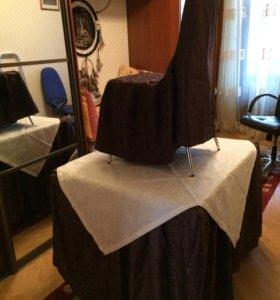 Чехлы на стулья, скатерть, уголок.Всё Новое.Торг