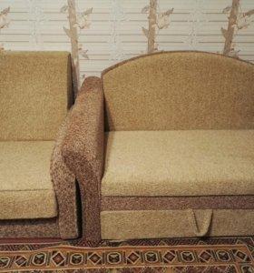 Мини диван и 2 кресла