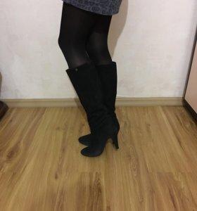 Сапоги деми,юбка,кофта,джинсы