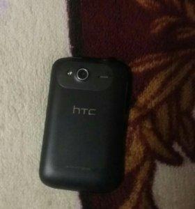 Продам на запчасти телефон HTC Wildfire S