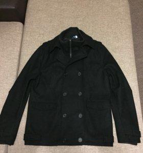 Двубортное пальто H&M мужское