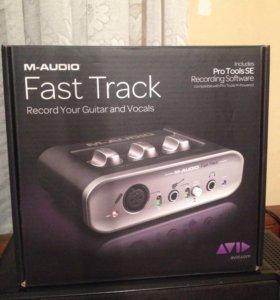 Продам USB аудио интерфейс M-Audio Fast Track