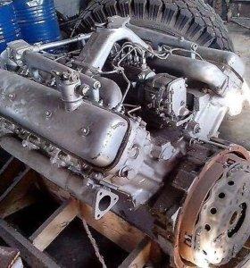 Двигатель от КрАЗа 238