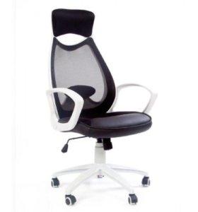 Кресло CHAIRMAN 840 White чёрный