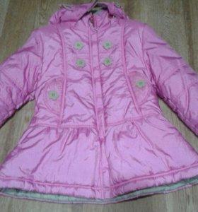 Новое демисезонное балоневое пальто