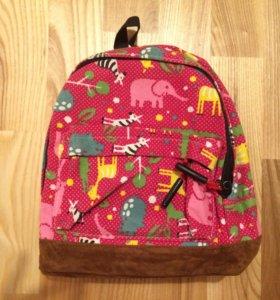 Детский рюкзак с животными