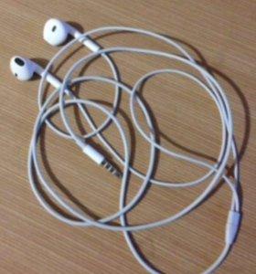 Наушники Apple EarPods, оригинальные