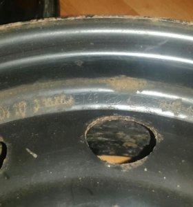 Штампованные диски R15 hyundai kia
