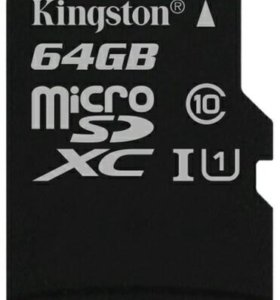 MicroSD 64GB Kingston Class 10