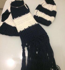 """Новый зимний набор """"шапка и шарф"""""""