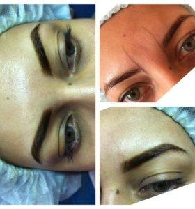 Перманентный макияж ( татуаж)