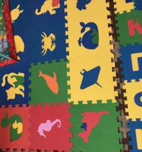 Развивающий коврик для детей от 6. Мес до 6 лет