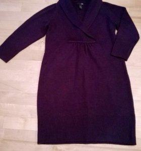 Вязаное платье H&M 46-48