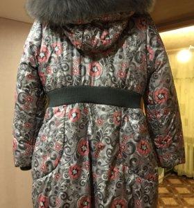 Пальто для девочки 9-10 лет