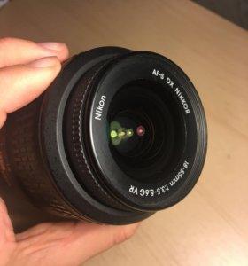 Объектив новый! Nikon 18-55mm f/3.5-5.6G AF-S