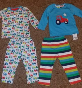 Новый набор из 2х пижам mothercare до 80 см