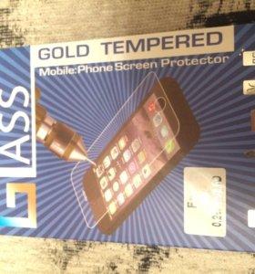Защитные Стекла для iPhone 4 4s 5 5s 6 6s 6 plus