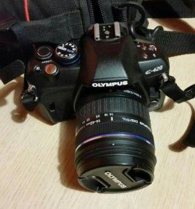 Зеркальный фотоаппарат Olumpus E-420 kit.