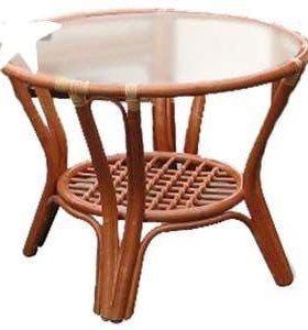 Журнальный стол из ротанга