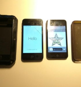 Iphone 4s 16gb + Ipod touch 8gb