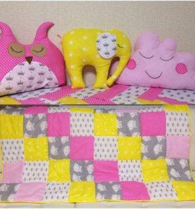 Покрывала, подушки декоративные