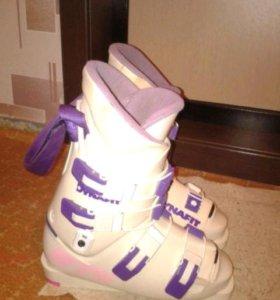Горнолыжные ботинк р38-39