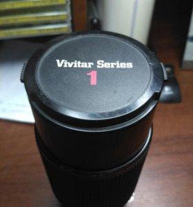 Объектив Vivitar series 70-210 macro под nikon