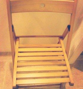 Складной стул Терье Икеа