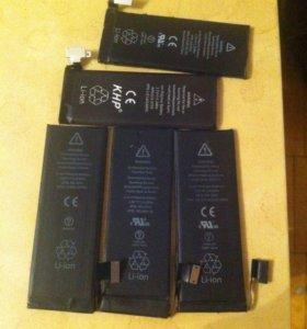 Аккумуляторы для iPhone 4,4s,5,5s