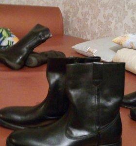Обувь мужская(сапоги осенне_весенние)