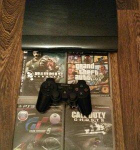 Продаю игровую приставку Sony ps3