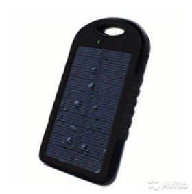 Внешний аккумулятор/батарея от солнца Power Bank