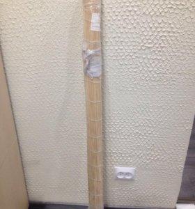 Римская штора из бамбука