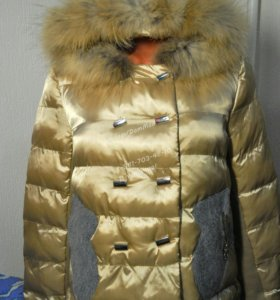 Куртки новые с нат мехом