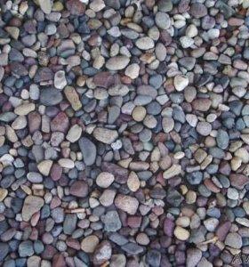 Гравий; шлаковый щебень; песок