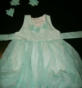 Свадебное платье для малышки