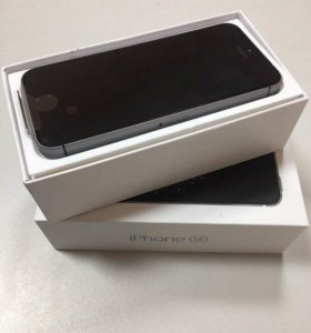 iPhone SE 16gb space gray