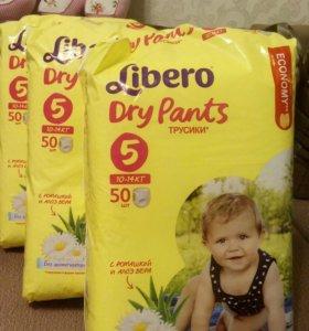 Подгузники-трусики Libero Dry Pants.