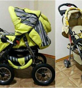 Продам две коляски Anmar fox 3 в 1 + летняя