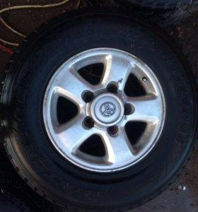 Шины с дисками на Тойота (Toyota)
