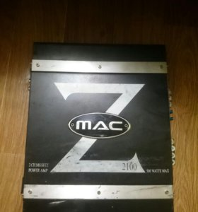 Усилитель MacAudio Z 2100