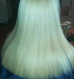 Ботокс волос  и кератиновое выпрямление волос