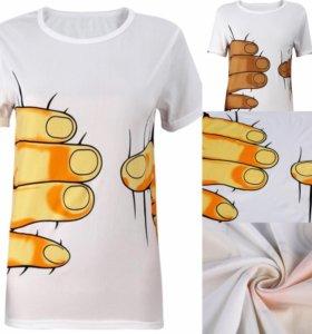 Стильные, необычные футболочка!