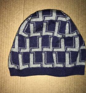 Мужская шапка Lacoste 💯 шерсть