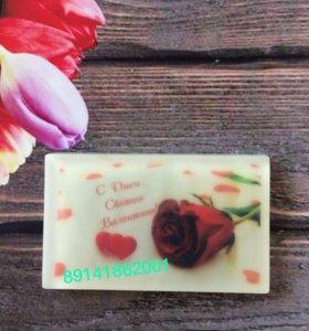 Мыло -открытка