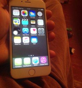 Айфон 6 с копия новые сломнь симкарту сдовиш чу сл