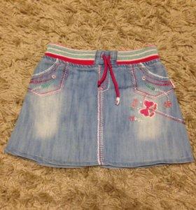 Юбки  для девочки 4-5 лет