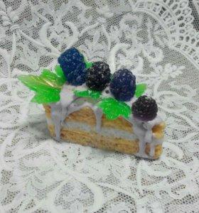 Мыльное пироженое!