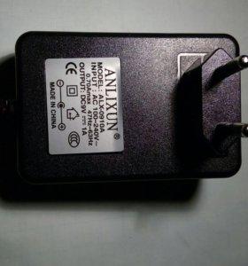Блок питания (адаптер) 9В 1А