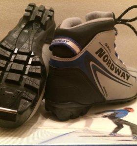 Ботинки для беговых лыж Nordway 35р NNN